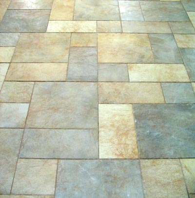 floor from pennies round tiles tile unique flooring cheap luxury diy custom idea glazed